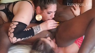 Nude Tube  : Preview His Lucky Day Double Rimjob Blowjob with LusciousLilli